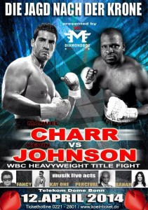 charr vs johnson plakat
