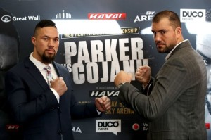 Parker v Cojanu Press Conference